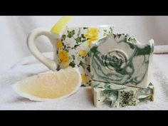 Citrusos videoszappan készítése - soap making - YouTube