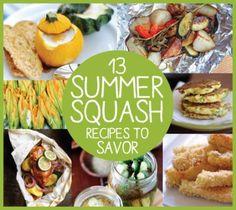 13 Summer Squash Recipes