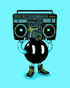 BOOMBOX by Alex Solis