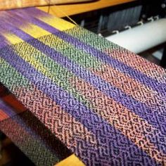 Scarves - bamboo painted warp