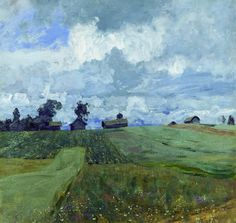 Stormy day, 1897. Isaac Levitan