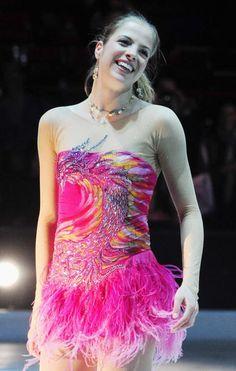 Carolina Kostner (Photo by Stefania D'Alessandro/Getty Images)