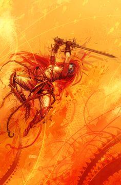orange storm by *michalivan on deviantART
