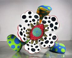 Yayoi Kusama, Flowers that bloom at midnight - L'Ogresse de Paris