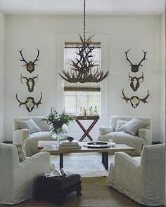 fab antler chandelier