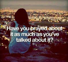 Have u prayed?