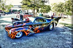 Flamed Pro Mod 33 Willys