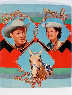 Roy Rogers & Dale Evans 1953