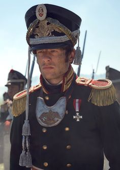 James Norton as Prince Andrei Bolkonsky in War and Peace (TV Series, 2015). [x]