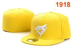 EY Toronto Blue Jays 59fifty yellow fitted hat