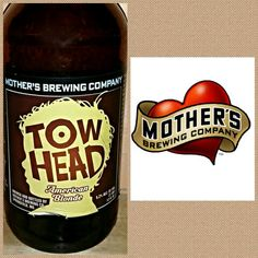 #612 TOW HEAD AMERICAN BLONDE • Mothers Brewing • Springfield, MO • ☆☆☆☆☆ • nice flavor and easy drinking.