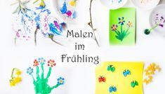 12 Ideen zum Malen im Frühling mit Kindern