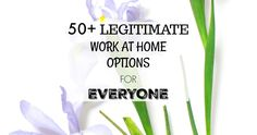 Finding legitimate work at home opportunities can be really hard. That's why I have this massive list of work at home options for you today, from online jobs to extra income gigs.