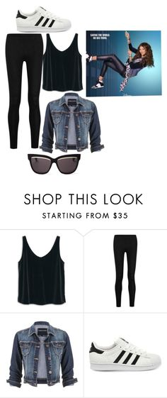 """""""KC Undercover"""" by dogpersononemillion ❤ liked on Polyvore featuring MANGO, Donna Karan, maurices, adidas, Christian Dior, women's clothing, women, female, woman and misses"""