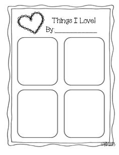 print out and have your kid fill it out for a valentines day activity - Print Out Activities