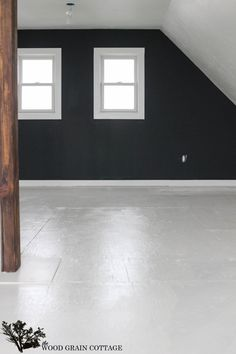 How To Paint Plywood Floors - The Wood Grain Cottage Painted Plywood Floors, Plywood Furniture, Furniture Design, Kid Furniture, Painted Wood, Concrete Lamp, Stained Concrete, Concrete Countertops, Concrete Floors