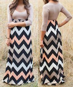 Trendy Multicolor Maxi Dress – Miracles Fashion Boutique