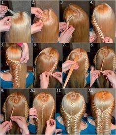 peinado-niña-paso-a-paso.jpg (546×640)