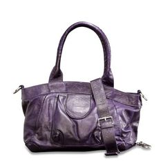 Purple satchels are so hot.