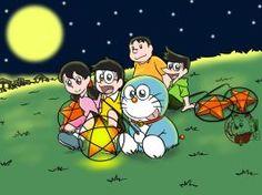 Doraemon and friends(Vietnamese mid autumn festival)- By Doraemonbasil
