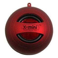 X-Mini II Capsule Speaker (Red)