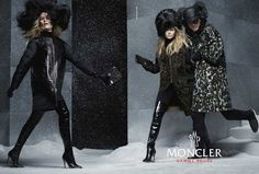 Anna Ewers, Sasha Luss, RJ King by Steven Meisel for Moncler Gamme Rouge Fall Winter Steven Meisel, Moncler, Camouflage, Rj King, Daily Fashion, Fashion Tips, Fashion Trends, Anna Ewers, Campaign Fashion