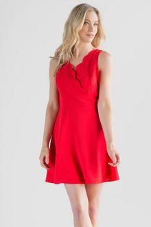 Dorothy Scalloped Dress