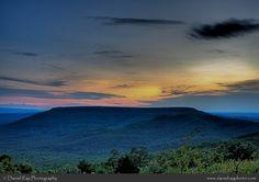 Incredible view of Mount Nebo, Arkansas