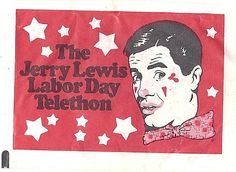 Jerry Lewis Telethon Sugar Packet