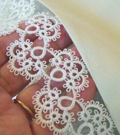 Supplies for Crocheting, Lacemaking, Tatting Tatting Jewelry, Tatting Lace, Needle Tatting Patterns, Crochet Patterns, Filet Crochet, Tatting Tutorial, Lacemaking, Thread Work, Bobbin Lace