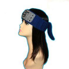 Crochet Pattern PDF Naruto Headband. All Sizes by FunyCreation