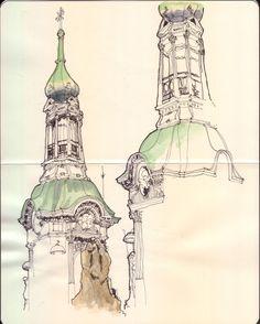Basílica de San Francisco #BuenosAires #sketch #urbansketchers #urbansketcher #usk #drawingOnLocaltion #croquis #urban #watercolor #acuarela #windsorAndNewton #moleskine #CroquiserosUrbanos #street #dibujo #drawing #illustration #sketchbook #locationDrawing #lineDrawing #moleskine_arts #bestsketch #archisketcher http://ift.tt/1q7A2fe