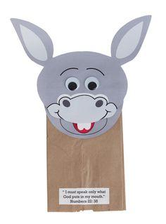 Paper Bag Donkeys – Donkey Crafts for Kids | Paper bag crafts ... | 319x236
