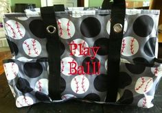 For your baseball crew  (featuring the '31 gifts' Organizing Utility Tote)