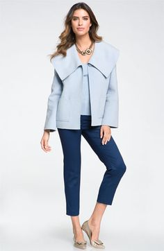 St. John Collection Jacket, Tank & Crop Pants | Nordstrom
