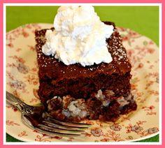 Sweet Tea and Cornbread: German Chocolate Upside Down Cake!