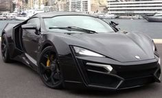 Lykan Hypersport. Looks like some kind of alien spacecraft. Very futuristic. Kinda has an Audi R8 feel to it.