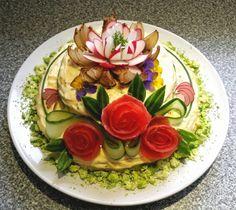 Potato salad pie