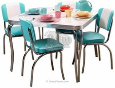 Vintage Metal Kitchen Tables And Chairs  Restoring 1950S Kitchen Pleasing 1950 Kitchen Table And Chairs Design Decoration