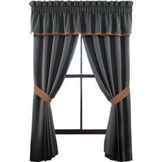 Croscill Classics Tucson 2-Pack Curtain Panels ($100) ❤ liked on Polyvore featuring home, home decor, window treatments, curtains, rod pocket curtain panels, polyester curtains, rod pocket panels, rod pocket valances and croscill window treatments