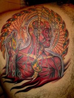 14 Vibrant and Detailed Psychedelic Tattoos Inspired by Alex Grey