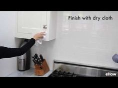 How to Clean Grease From Kitchen Cabinet Doors | eHow | eHow