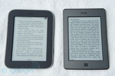 Barnes and Noble Nook with GlowLight and Amazon Kindle. I NEED one of these like yesterday...