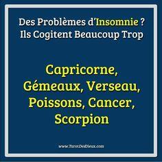 #insomnie #sommeil #capricorne #gemeaux #verseau #poisson #cancer #scorpion #horoscope
