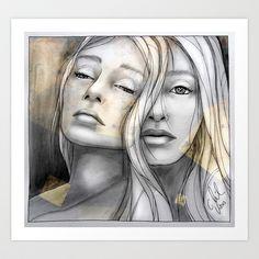 """Reflection II"" by carographic Art Print by Carolyn Mielke - carographic - $19.00"