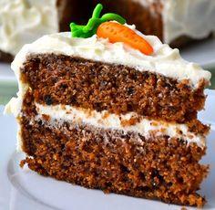 Mrkvový dort Czech Recipes, Ethnic Recipes, Sweet And Salty, Carrot Cake, Vanilla Cake, Sweet Recipes, Starbucks, Banana Bread, Cheesecake