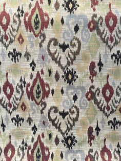 The Whole 9 Yards   Pattern: Grisham, Color Name:Redstone Fabric Content: 82% Polyester, 18% Cotton Fabric Width: 58.5″ Repeat: Horizontal: 15″ Vertical: 10″ Price: $29.99