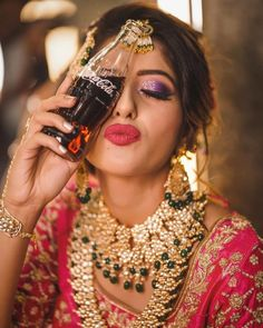 61 Fabulous Bridal Poses For The Stunning Bride-to-be Indian Wedding Photography Poses, Creative Wedding Photography, Photography Styles, Photography Props, Couple Photography, Bridal Photoshoot, Bridal Shoot, Bridal Pics, Wedding Shoot