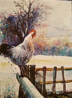Gilda Di Lernia  Acquerello su carta satinata Fabriano 25×35