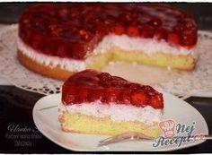 Ovocný dort s mascarpone krémem a ovocnou želatinou